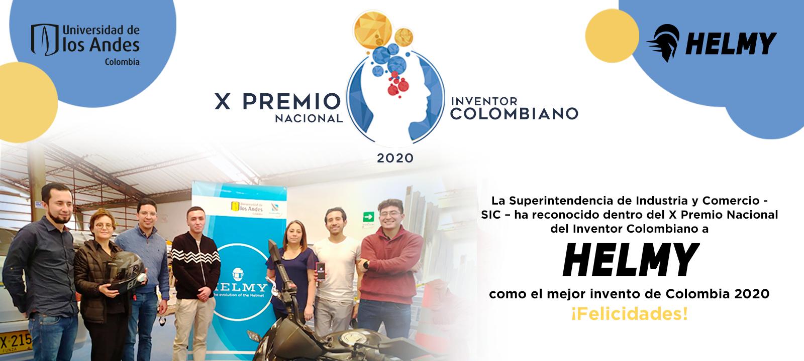 Premio invento colombiano