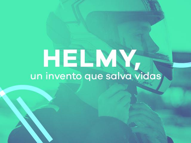 Helmy, un casco salva vidas