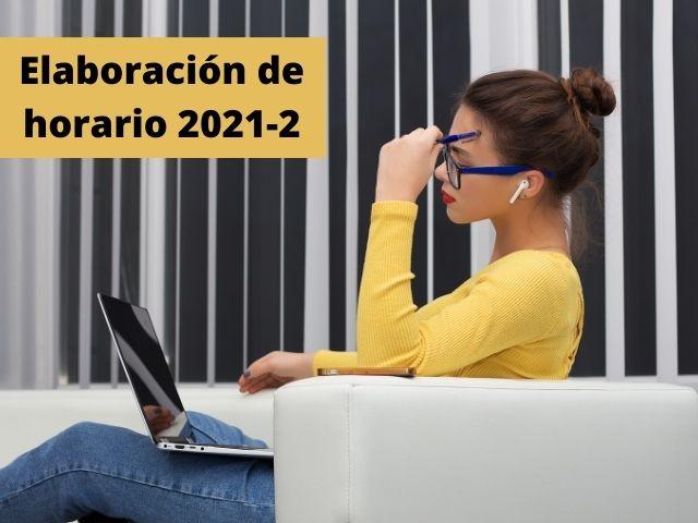 horario 2021-2
