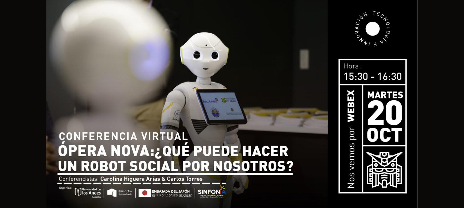 Opera-Nova ¿Qué puede hacer un robot social por nosotros?