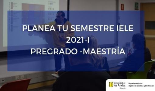 Planeación semestre 2021-I